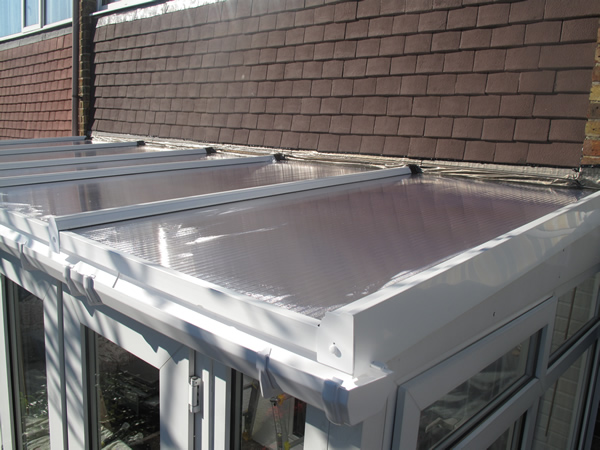 New self support 35mm polycarbonate roof