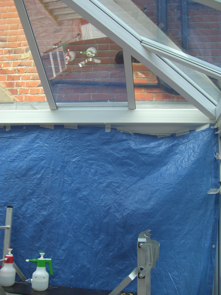 Conservatory solar film Silver 20 high reflect