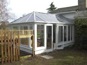 Conservatory after maintenance and repairs